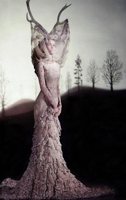 Dress Widows of Culloden, AW06 Alexander McQueen