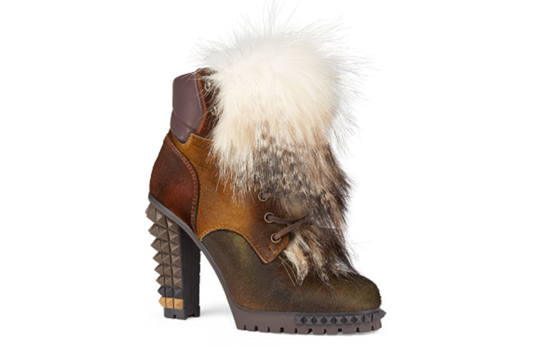 Joan Ankle Boot by Fendi