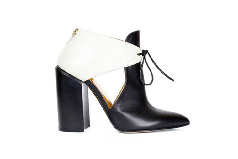 """White"" Boot by Walter Steiger."